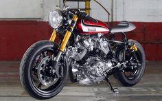 Yamaha Virago 1100 Cafe Racer - Hageman MC. Entra y descubre una Virago brutal con la que te vas a quedar soñando ¿Te vas a perder esta moto? ¡Go!