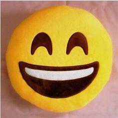 Peluche Coussin Singe Fée 25 Cm Smiley Emoji DECO émotion déco