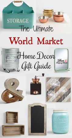 This really is the Ultimate World Market Home Decor Gift Guide! Awesome! World Market World Market Decor World Market Furniture World Market Home Decor World Market Home Style Home Decor Home Decor Ideas Home Decor Gifts Farmhouse Decor Farmhouse home dec