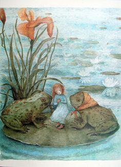 The Wild Swans and Thumbelina by Kaarina Kaila