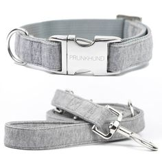 Dog collar CASUAL handmade from soft jersey - super cozy - matching leash available - comes in many sizes
