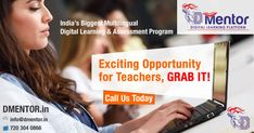 If you are a #TEACHER / #MENTOR, Here is an #Exciting #Opportunity for you, A hassle free way to reach to the millions of #students and earn millions while contributing great. #education #digitalindia #digitaleducation #onlinestudy  Check out for more Details https://goo.gl/YXoEP5