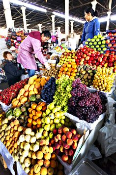 Fruit Market, Cusco, Peru Fruit Stands, Peruvian Recipes, Light Works, Fruit Displays, Peru Travel, Delicious Fruit, World Market, Fruits And Vegetables, Farmers Market