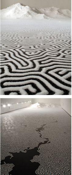INCREDIBLE SALT INSTALLATIONS BY MOTOI YAMAMOTO