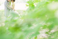 前撮りでファーストミート*京都/鴨川 | *elle pupa blog*