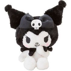 Rare My Melody Kuromi Plush Doll Sanrio Japan Limited Ribbon Kawaii Devil new Peluche Hello Kitty, Sanrio Japan, Hello Kitty My Melody, Png Icons, Baby Memes, Kawaii Plush, Cute Stuffed Animals, Sanrio Characters, Disney Characters