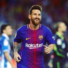 "43.4k Likes, 387 Comments - LaLiga (@laliga) on Instagram: ""@leomessi continues... ⚽️⚽️ #Messi #Barça #LaLiga"""