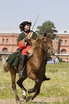 Russian cavalry Great Northern War