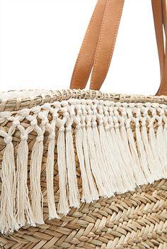 Macrame Bag, Beach Bags, Summer Bags, Straw Bag, Tassels, Basket, Diy Crafts, Facebook, Boho