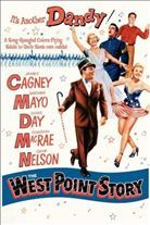 The West Point Story (1950). Starring: James Cagney, Virginia Mayo, Doris Day, Gordon MacRae, Gene Nelson and Alan Hale