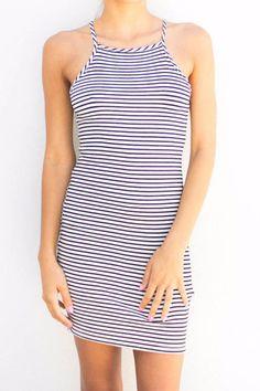 Raley striped Dress