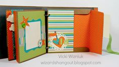 Wizard's Hangout: Sweet Mini Album... pages 4 and 5