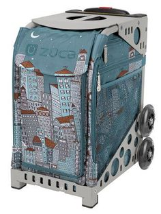 Zuca Sport Bag - Downtown with Grey Frame | Enter the metropolitan world of art work and design to witness the magnificent curators of progressive trave  https://figureskatingstore.com/zuca-bags/ #figureskating #figureskatingstore #figureskates #skating #skater #figureskater #zucabag #zuca #zucabags #zuca #backpack #zucabackpack #iceskatebag #skatebags #ice #skatingbag #zucastore #zucabackpacks #zucaskatebag