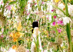 teamlab immerses visitors in an interactive floating flower garden