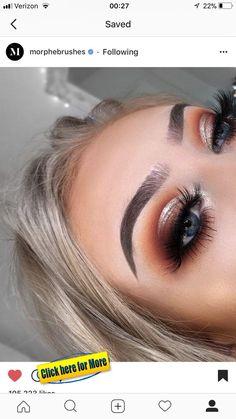 for eye makeup makeup 2019 simple makeup looks natural makeup eyeshadow makeup types makeup eye shape makeup material name makeup pads Makeup Eye Looks, Cute Makeup, Glam Makeup, Gorgeous Makeup, Pretty Makeup, Skin Makeup, Makeup Inspo, Makeup Inspiration, Makeup Eyeshadow