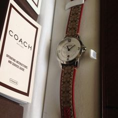 """Spotted while shopping on Poshmark: """"Atlantic Coach watch with box and booklet""""! #poshmark #fashion #shopping #style #Coach #Other"""
