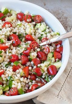 Click here for the perfect couscous salad recipe.
