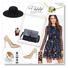 """Shein 6/V"" by hedija011 ❤ liked on Polyvore featuring BoonTheShop and MAC Cosmetics"