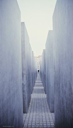 Impressive Holocaust Monument, Berlin, Germany