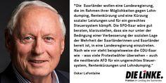 #oskar #Lafontaine zur #landtagswahl2017 im #Saarland , die Möglichkeit von #r2g an der #saar und #belegschaftsbeteiligung #oskarlafontaine #spdsaar