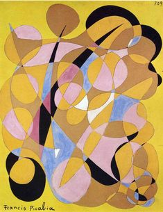 Francis Picabia, Spring, 1942 ca Francis Picabia, Arts Integration, Art Archive, Land Art, Beautiful Paintings, Art Education, Oeuvre D'art, Les Oeuvres, Art History