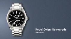 Orient Royal Retrograde Full Picture
