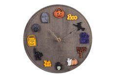 Walnut Hollow Spooky Clock