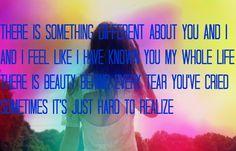 Fire N Gold lyrics art by me :) Bea Miller is amazing.