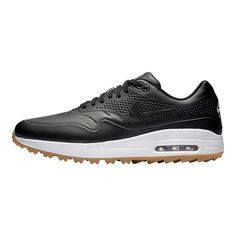 quality design 620ae 5472a Nike Golf Men s Air Max 1G Golf Shoes - Black Nike Golf Men, Golf Shoes