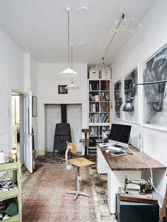 My Modern House: restaurateur Mark Hix shows us around his newly refurbished live/work apartment in Bermondsey