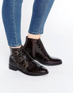 ASOS   ASOS ALTAIR Leather Ankle Boots