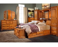 Beds-Lincoln Manor Wall Bed-Build onto your bed