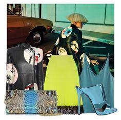 """DARK AND LIGHT"" by tiziana-melera ❤ liked on Polyvore featuring H&M, Christopher Kane, Alexander McQueen, Ghibli, Giuseppe Zanotti, AlexanderMcQueen, Dark, light and polyvoreeditorial"