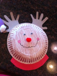 Paper plate reindeer & Reindeer Paper Plate Craft    Christmas   Pinterest   Paper plate ...