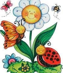 Resultado de imagen para primavera tarjetas para face