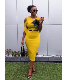 Wedding Guests Steal-worthy Looks - Wedding Digest Naija Dressy Dresses, Dress Outfits, Short Dresses, Casual Outfits, Fashion Dresses, Women's Fashion, Lace Dress Styles, Frack, African Dresses For Women