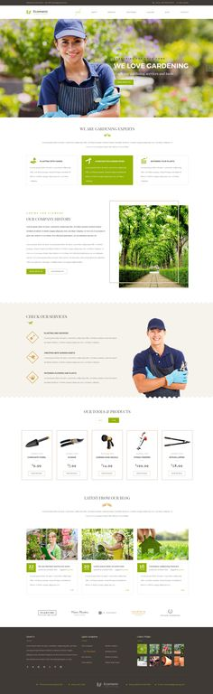 Ecomanic - Gardening and Landscaping HTML Template #site #landscaper #agriculture • Download ➝ https://themeforest.net/item/ecomanic-gardening-and-landscaping-html-template/14703375?ref=pxcr