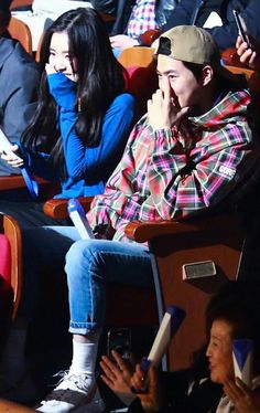 Suho with Irene (Red Velvet) Exo Red Velvet, Red Velvet Irene, Kpop Couples, Cute Couples, Super Junior, Seulgi, K Pop, Shinee, Red Velvet Photoshoot