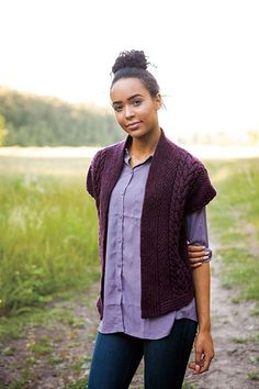 Fall Day Vest