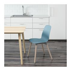 LEIFARNE Chair, light blue, Ernfrid birch $59 @ IKEA stores (would want two for breakfast nook)