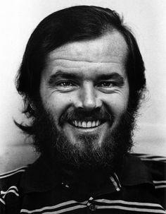 Jack Nicholson photographed by Jack Mitchell. 1969.
