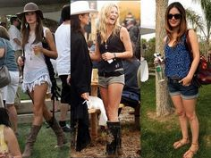 Celebrity Coachella Outfits