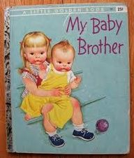 My Baby Brother, written by Patricia Scarry, illustrations by Eloise Wilkin