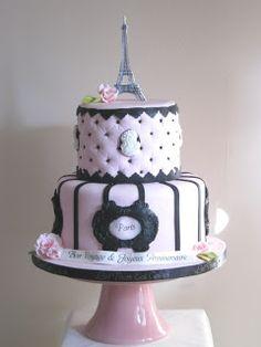 Let Them Eat Cakes: Bon Voyage - Paris Cake
