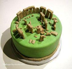 stonehenge cake