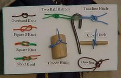 Exciting Scout Crafts - Knot Board