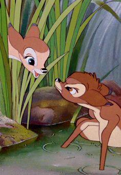Bambi Disney, Disney Cartoons, Disney And Dreamworks, Disney Love, Disney Magic, Disney Art, Disney Pixar, Cartoon Wallpaper, Disney Films