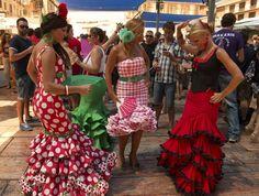 Olé! Viva la feria! (de Málaga) New Adventures, Dresses, Fashion, Andalusia, Vestidos, Moda, Fashion Styles, Dress, Fashion Illustrations