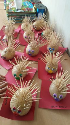 Potato Hedgehogs
