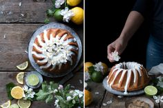 VEGAN LEMON DRIZZLE BUNDT CAKE + VEGAN SUPPERCLUB RECAP  (V+, NF, ChF, GF) Just over a week ago, Silvia and I hosted our first ever supperclub in South West London. It was - I must say - an experience and a half. Never having cooked within a professional setting before and then finding myself